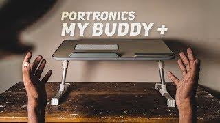 Portronics POR-895 Adjustable Laptop Table - Review!<