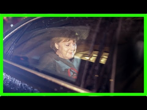 Merkel to meet with german president after coalition talks fail