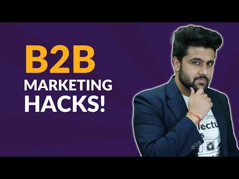 Best B2B Marketing Strategy For Any B2b Business