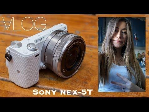 VLOG: Обзор Sony nex-5T моей новой камеры для ВЛОГов + Работы моих Учеников :)