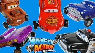 DISNEY PIXAR CARS WHEEL ACTION DRIVERS MOVING TIRES AND MOUTH