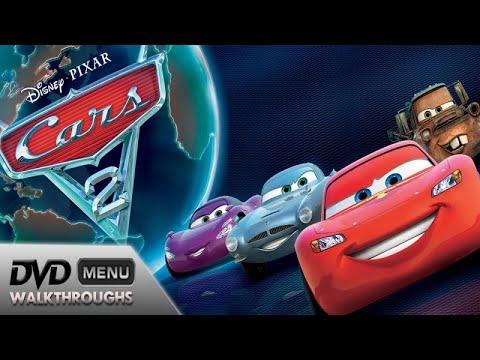 Cars 2 (2011) DvD Menu Walkthrough