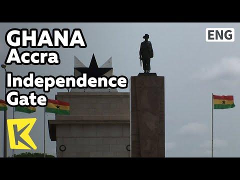 【K】Ghana Travel-Accra[가나 여행-아크라]독립공원과 독립문/Independence Gate/Park/Dawn of Africa