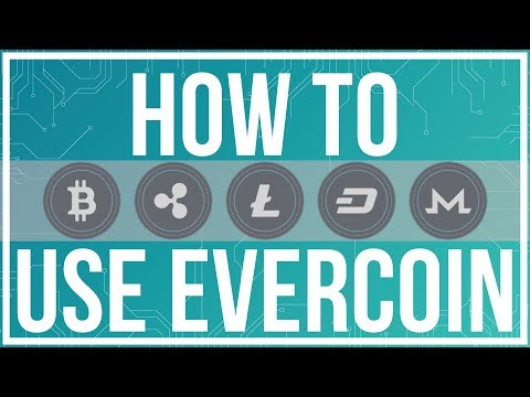 How To Buy and Sell CryptoCurrency with Evercoin - Full Tutorial