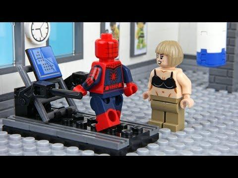 Lego Spider-man Gym Fail