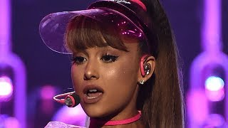 ariana grande stops mid performance for a fan for this reason