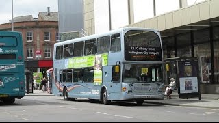 Buses Trains & Trams in Nottingham May 2016