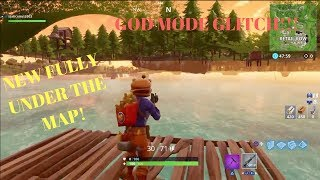 Fortnite Glitches: *NEW INSANE* Under The Map Wallbreach Glitch In Fortnite! God Mode Glitch! P2