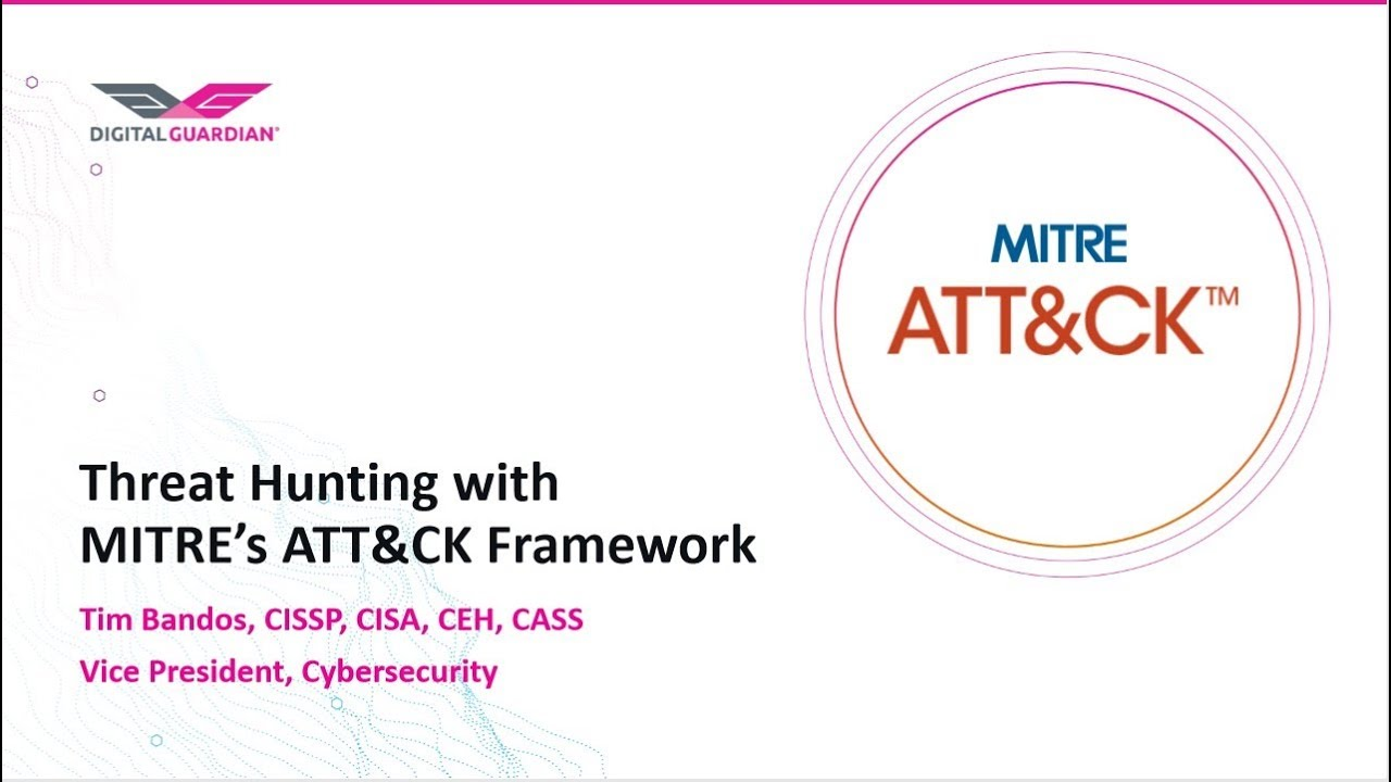 What is the MITRE ATT&CK Framework? | Digital Guardian