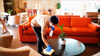 Cleanliness Standards at Feathers - A Radha Hotel