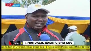 Ulikuja na pikipiki lakini unarudi nyumbani na Probox,   Governor Mandago praises #KassMarathon2018