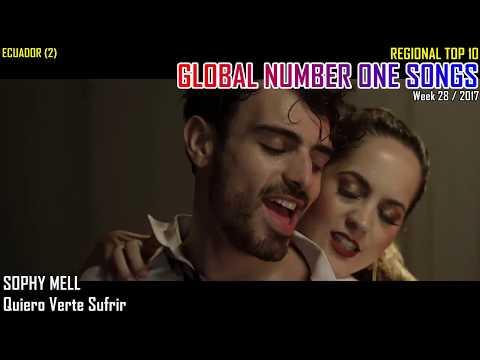 GLOBAL NUMBER ONE SONGS (week 28 / 2017)