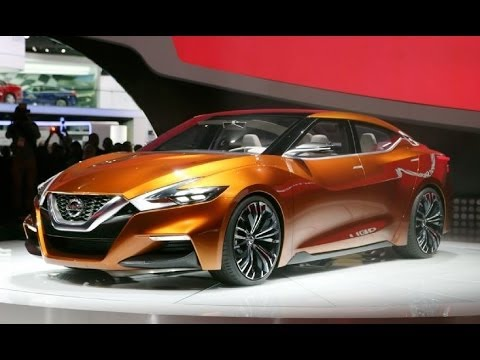 2015 nissan sport sedan maxima concept first look youtube. Black Bedroom Furniture Sets. Home Design Ideas