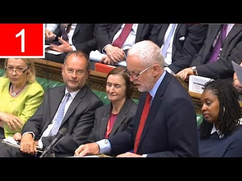 Jeremy Corbyn on Tory-DUP deal, BREXIT & May | Full Statement, The Commons