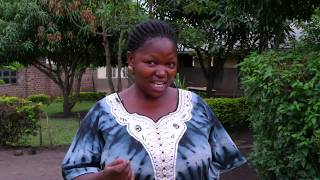 Teacher Winfred Musimenta explains how Ecotrust's TGB helps a primary school in Rubirizi, Uganda