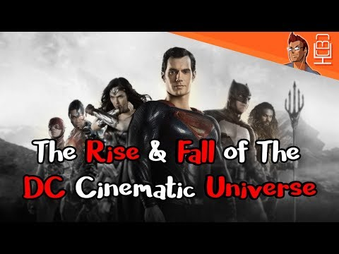 The Rise & Fall of The DCEU