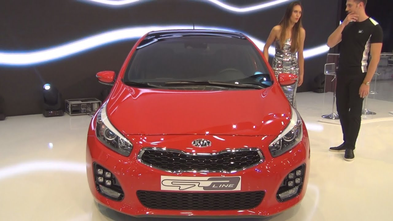 kia cee d gt line 2015 exterior and interior in 3d youtube. Black Bedroom Furniture Sets. Home Design Ideas