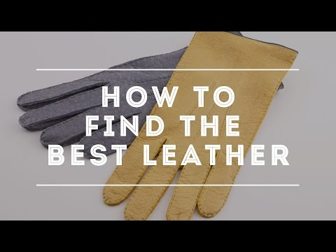 Glove Leathers & Linings - Peccary Gloves, Lamb Nappa, Hairsheep & Deerskin Leather