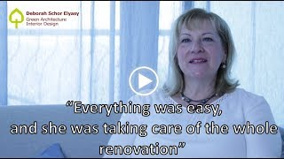 Renovation in Israel - Brigitte talks about her apartment renovation with Debby Schor Elyasy
