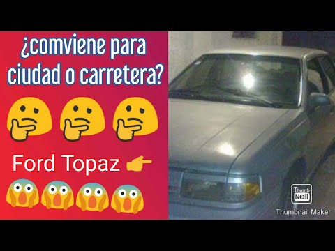 Review y tips completos de Ford Topaz 93