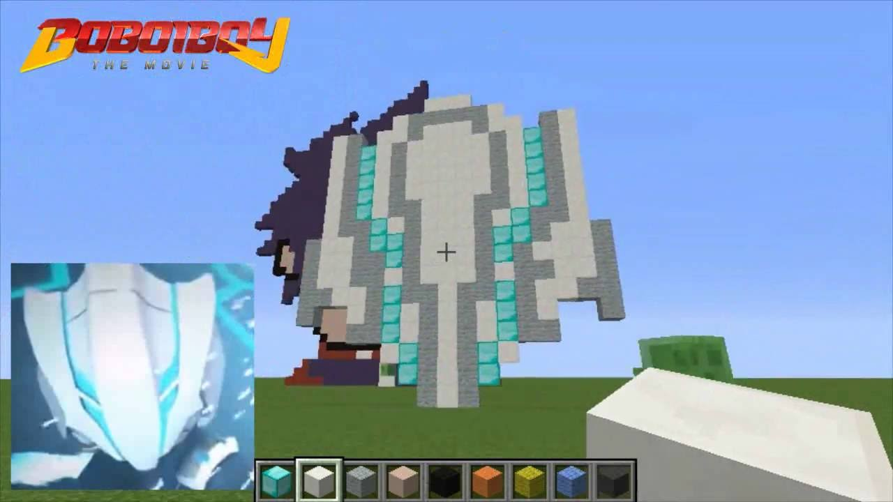 Boboiboy Topeng Kaizo Minecraft