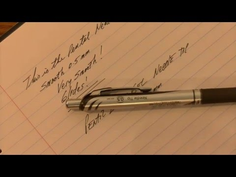 The Best Pen Review | Pentel EnerGel Needle Tip 0.5mm