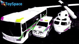 헬로카봇 케이캅스 색변신 자동차 로봇 변신합체 장난감 동영상 Hellocarbot K Cops Color Transform
