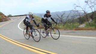 Lance Armstrong: Downhill Cornering