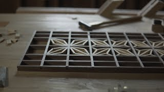 Art Of Kumiko - Making Kumiko Wall Art