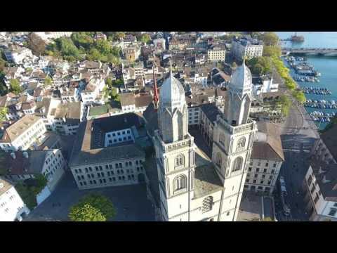 Zurich Grossmünster Church