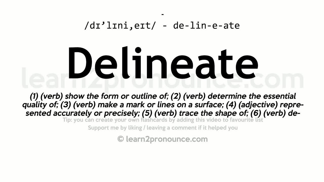 Delineate Meaning In Marathi - Idee per la decorazione di interni