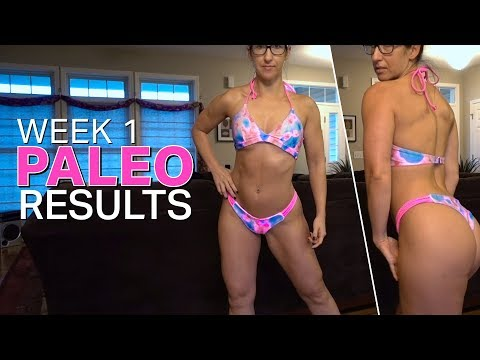 Paleo Diet Results Week 1