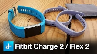 Fitbit Flex 2 and Charge 2 - Hands on - IFA 2016