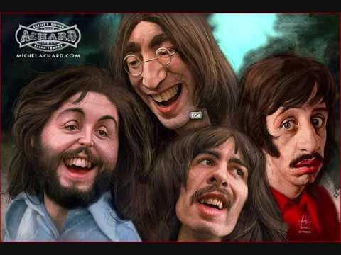 The Beatles Remix collage, sonido LP