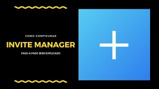 How To Set Up Invitemanager Discord