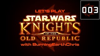 Lets Play | Star Wars: KOTOR #003 -  Lower City Ludicrousness