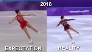 My 2018 EXPECTATION VS REALITY / Mirai Nagasu-Pyeongchang 2018