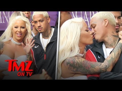 Mikey V - Rapper Tyga's Best Friend Is Dating Amber Rose!1