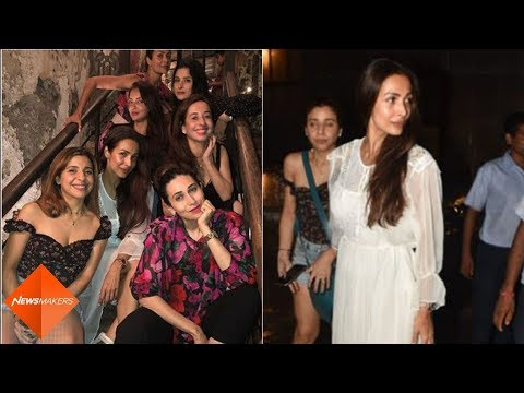 Malaika Arora's Night Out With Amrita Arora, Karisma Kapoor And Their Girl Gang | SpotboyE Mp3