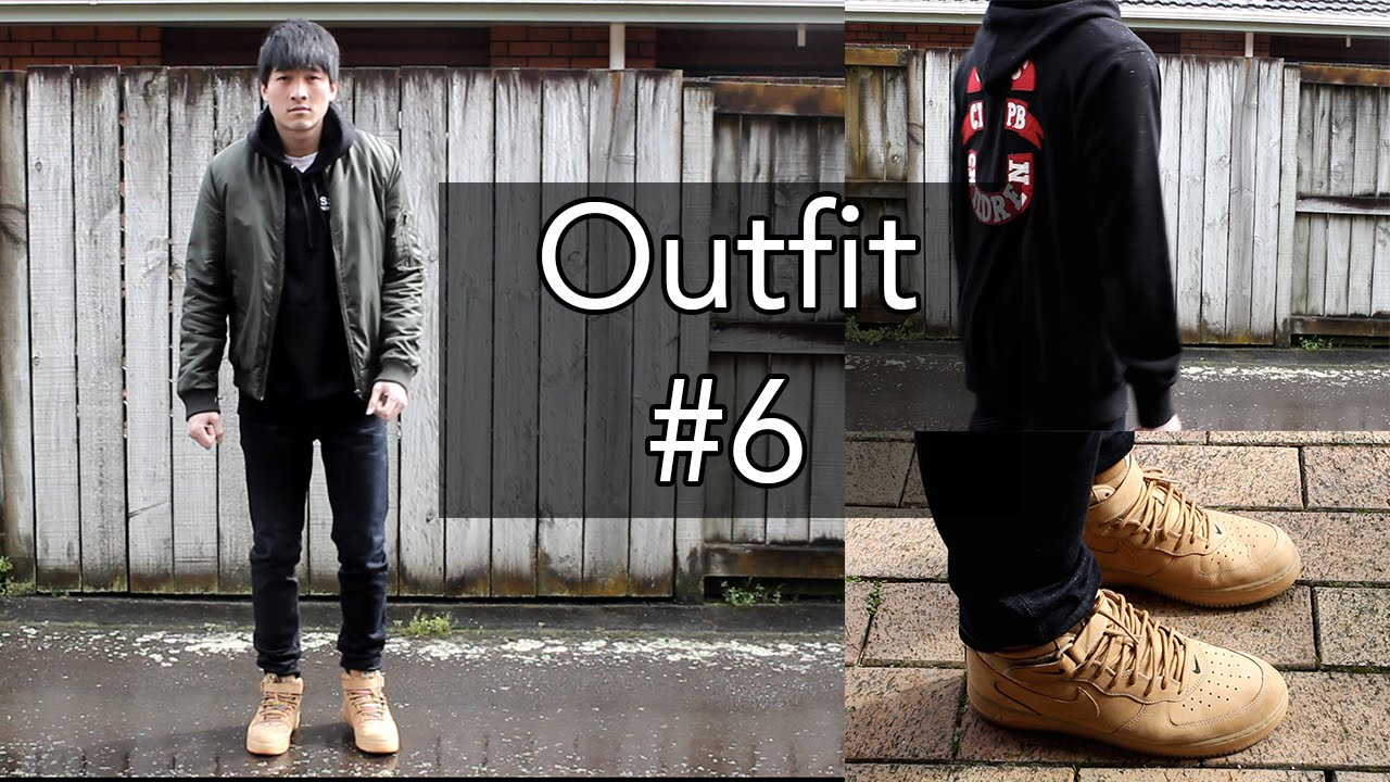 OOTD #6 | Fall Look feat. Air Force 1 Flax Cotton On SSUR u0026 I Love Ugly - YouTube