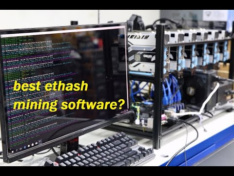 ETHASH Mining Software Comparison (benchmark)