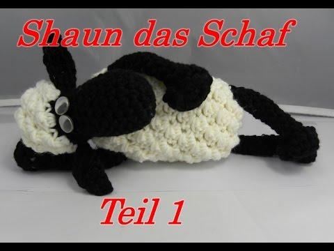 Shaun das Schaf Häkeln mit Veronika Hug - Teil 1: Huf mit Bein - YouTube