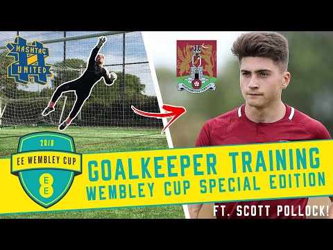 Wembley Cup GK training with Scotty P!