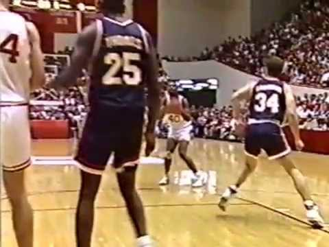 Indiana vs Illinois 2/17/1993 (Radio Dub)