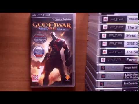 Обзор моей коллекции игр для PSP (PlayStation Portable)