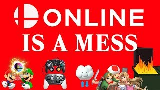 Smash Bros. Ultimate ONLINE is a MESS