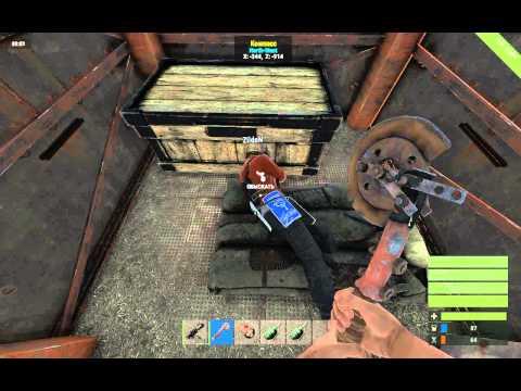 Рейд на сервере Rust RPG.