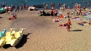 Пляж джубги(Народа после 9:00 уже много., 2012-07-27T07:40:37.000Z)