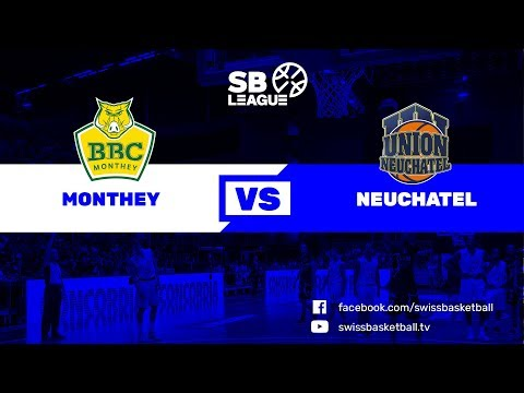 SB League - Day 8: Monthey vs. Neuchâtel