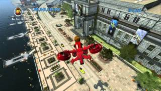 LEGO City Undercover (Wii U) - Unlocking All Rex Fury